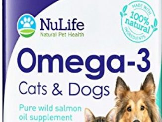100% Pure Omega 3 Fish Oil for Dogs and Cats – Wild Alaskan Salmon Oil Supplement for Pets – For Healthy Skin and Shiny Coat – No Fishy Smells – 500mg – 120 Easy to Swallow Capsules