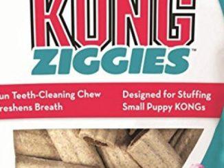 KONG Puppy Stuff'N Ziggies Small Dog Treat, 7-Ounce
