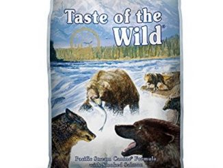 Taste of the Wild Pacific Stream Grain Free Protein Real Meat Recipe Natural Dry Dog Food with Real Smoked Salmon 5lb