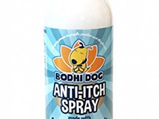 NEW Anti Itch Oatmeal Spray for Dogs and Cats | 100% All Natural Hypoallergenic Soothing Relief for Dry, Itchy, Bitten or Allergic Damaged Skin | Vet and Pet Approved Treatment – 1 Bottle 17oz (503ml)