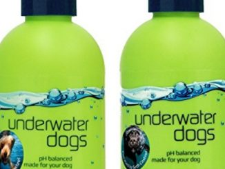 Underwater Dogs – Moisturizing Dog Shampoo and Conditioner Set – 8.4 Fl. Oz. Vanilla/Coconut – Soap Free Dog Shampoo for Itchy Skin