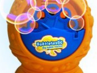 Bubbletastic Bacon Bubble Machine for Dogs – With FREE 8oz. Bottle of Bacon Bubbles!