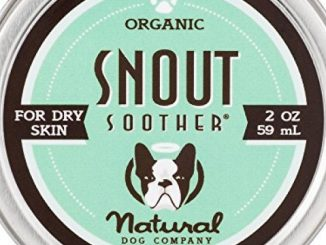 Natural Dog Company – Snout Soother – Dog Nose Remedy – All-Natural Remedy for Chapped Dog Noses – Vegan Dog Balm – Veterinarian Recommended – 2 Ounce Tin
