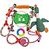 Mozart Dog Toys for Aggressive Chewers | Pet Toys for Dogs Indestructible | Dog Chews Toys | Best Teething Toys for Puppies | Dog Toys for Boredom | Dog Rope Toy | Puppy Toys | Dog Toys Multi Pack