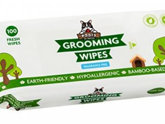 Pogi's Grooming Wipes – 100 Deodorizing Wipes for Dogs & Cats – Large, Hypoallergenic, Fragrance-Free