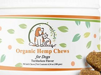 Valerio Organic Dog Hemp Chews – Dog Anxiety Relief Treat – USDA Organic Hemp Oil, Dog Calming Aid, Dog Chew, Chamomile for Joint Pain & Calming. Turkey, Duck, Chicken Flavor to Keep Your Dog Calm