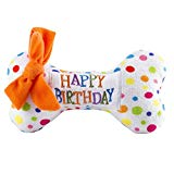 Haute Diggity Dog Yip Yip Hooray Collection | Unique Squeaky Plush Dog Toys - Celebrate with Pupcakes!