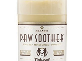 Natural Dog Company – Paw Soother | Heals Dry, Cracked, Irritated Dog Paw Pads | Organic, All-Natural Ingredients, Easy to Apply | 2 Oz Stick