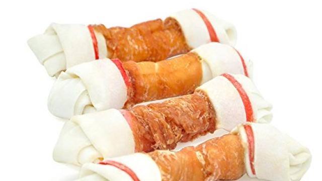 Pet Cuisine Dog Treats Puppy Chews Training Snacks,Chicken Wrap Knotted Bones -6.5″,11.3 oz