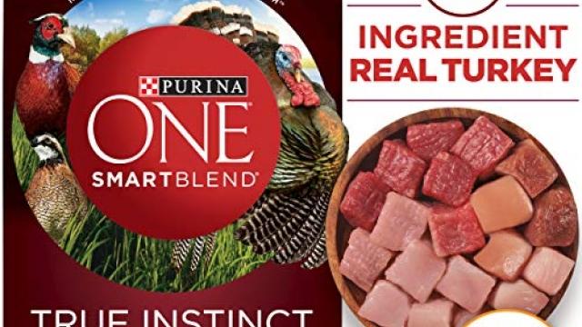Purina ONE High Protein, Probiotics, Grain Free Dry Dog Food, Smartblend True Instinct Turkey, Duck & Quail – 24 lb. Bag Reviews