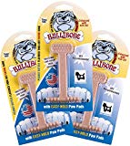 Bullibone Dog Chew: Durable Dog Toys for Small Dogs and Aggressive Chewers. Long Lasting Peanut Butter Flavored Dog Chews. Great for Puppies.