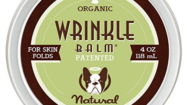 Natural Dog Company – Wrinkle Balm | Protects Dog's Skin Folds, Treats Dermatitis, Redness, Chafing, Inflammation | Organic, All-Natural Ingredients, Perfect for Bulldogs | 4 Oz Tin