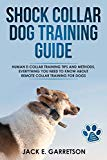 Shock Collar Dog Training Guide: Human E-collar Training Tips and Methods, Everything You Need to Know About Remote Collar Training for Dogs