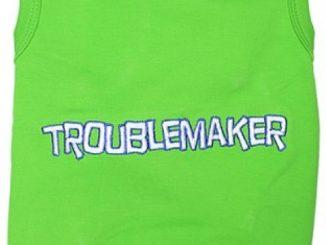 Parisian Pet Troublemaker Dog T-Shirt, XL Reviews