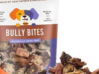 Jack&Pup Premium Grade Odor Free Bully Bites Dog Treats, (Value Pack) – All Natural Gourmet Dog Treat Chews – Fresh and Savory Beef Flavor (3 LB)