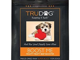 All Natural Dog Food Enhancer – Boost Me: Mighty Meaty Beef Booster (3.5oz) Freeze-Dried Raw Superfood Supplement – Easy to Mix and Enhances the Nutritional Value of Current Dry or Wet Dog Food …