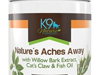 Nature's Aches Away Natural Arthritis Pain Relief for Dogs Aspirin Free Anti Inflammatory Hip & Joint Supplement Treats 55 Soft Chews Reviews