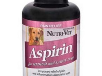 Nutri-Vet® K-9 Aspirin 300mg Chewables for Medium and Large Dogs – 75 count