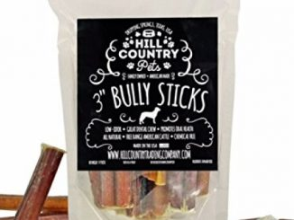 Bully Sticks Dog Chews 3 Inch 10 Count Made in the USA by Hill Country Pets