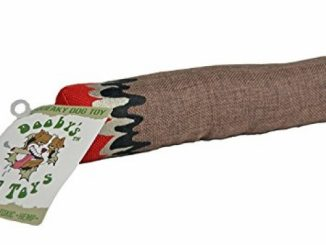 Doobies Blunt Dog Toy made with non toxic Hemp – durable funny squeaker Reviews