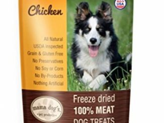 Freeze Dried Chicken Liver Dog Treats – Healthy, All Natural; Gluten, Grain, Hormone & Antibiotic Free, No Preservatives or Chemicals, Made in USA, Best for Training, Food Topper or Snacks