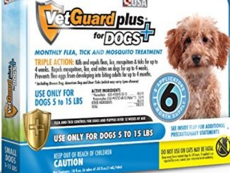 VetGuard Plus Flea & Tick Treatment for Small Dogs, 5-15 lbs, 6 Month Supply