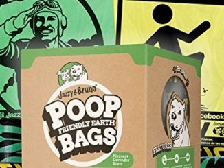 Funny Poop Bags – Large, Leak-Proof, Earth-Friendly EPI – for Dogs, Cat Litter, and Pet Waste – Refill Rolls – Scented