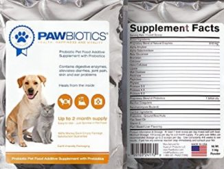 Pawbiotics Pet Probiotics and Enzymes with Prebiotics a Natural Supplement for Dogs and Cats (4 oz.)