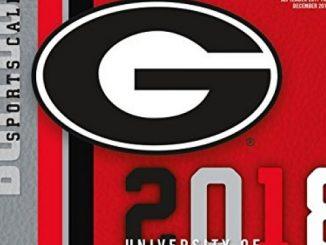 Georgia Bulldogs 2018 12×12 Team Wall Calendar