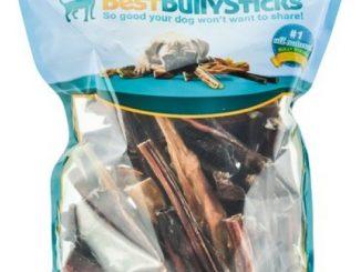 Bully Stick Value Grab Bag of Dog Chews – 2 Lbs