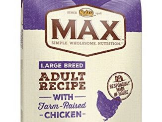 NUTRO MAX Large Breed Adult Recipe With Farm Raised Chicken Dry Dog Food, (1) 25-lb. bag; Rich in Nutrients and Full of Flavor for Large Breed Dogs Reviews