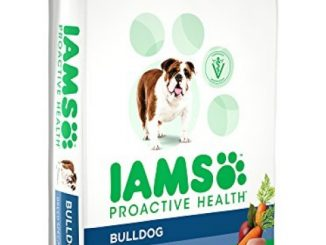 Iams Proactive Health Adult Bulldog Dry Dog Food, Chicken Flavor, 15 Pound Bag