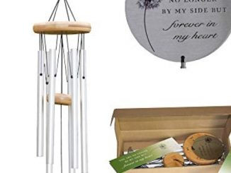 """Pet Memorial Wind Chime   Pet Remembrance Gifts Suitable for Dogs, Cats and All Animals – 26"""" Metal Dog Wind Chimes, Soothing Pet Memory for The Garden or Home Reviews"""