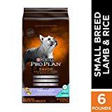 Purina Pro Plan With Probiotics Small Breed Dry Dog Food, SAVOR Shredded Blend Lamb & Rice Formula - 6 lb. Bag