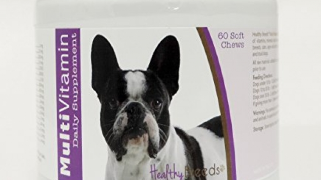 Healthy Breeds Dog Daily Vitamins Soft Chews for French Bulldog – Over 200 Breeds – for Small Medium & Large Breeds – Easier Than Liquid or Powders – 60 Chews
