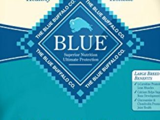 Blue Buffalo Life Protection Formula Large Breed Dog Food – Natural Dry Dog Food for Adult Dogs – Fish and Oatmeal – 30 lb. Bag