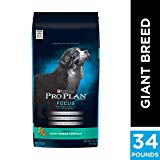 Purina Pro Plan High Protein Giant Breed Dry Dog Food, FOCUS Giant Breed Formula - 34 lb. Bag