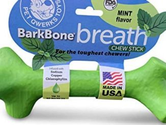 Pet Qwerks BarkBone Mint Flavor Dental Breath Stick Dog Chew Toy – Durable Dog Bones for Aggressive Chewers, Tough Power Chew Toys | Made in USA with FDA Compliant Nylon – for Small Dogs & Puppies Reviews