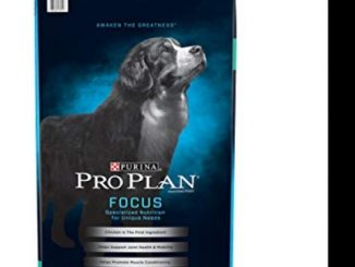 Purina Pro Plan High Protein Giant Breed Dry Dog Food, FOCUS Giant Breed Formula – 34 lb. Bag