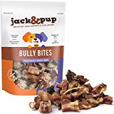 Jack&Pup Premium Grade Odor Free Bully Bites Dog Treats, (Value Pack) - All Natural Gourmet Dog Treat Chews - Fresh and Savory Beef Flavor (3 LB)